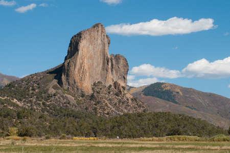 geologic: Crawford Needle Stock Photo