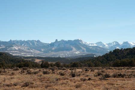 Gamme palais de justice dans l'Ouest du Colorado