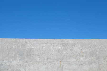 Cement and sky background