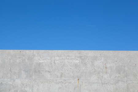 Ciment et fond de ciel