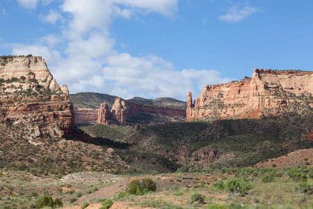 Canyon de mariage dans le Colorado National Monument