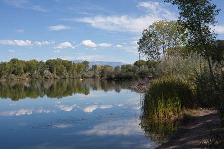 Reflecting Lake Stok Fotoğraf