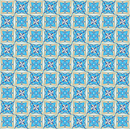 Colorful seamless pattern, background. Illustration