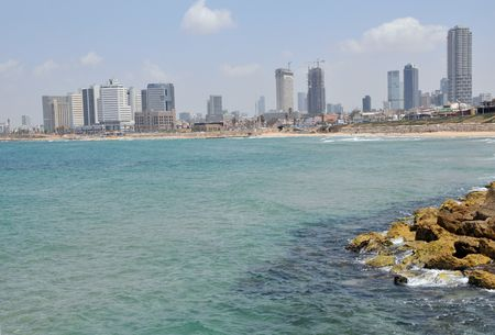 View of Tel aviv, Israel capital