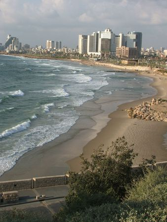 View of Tel aviv, Israel capital photo