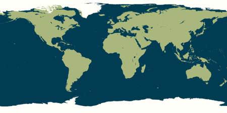 Illustration of the World Map