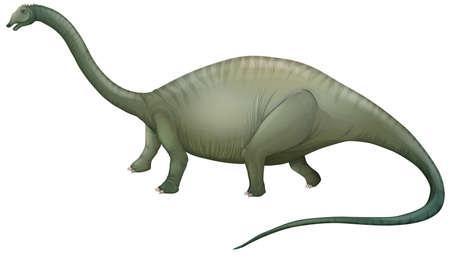 lateral eyes: Illustration of a large herbivorous dinosaur