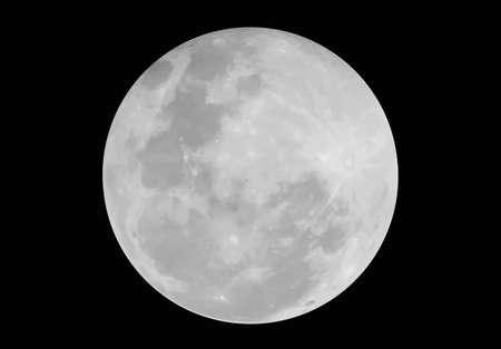 volle maan: De Aarde Maan Stock Illustratie