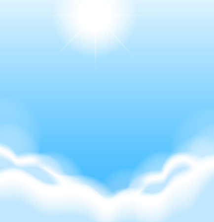 arial: Illustration of the morning sky