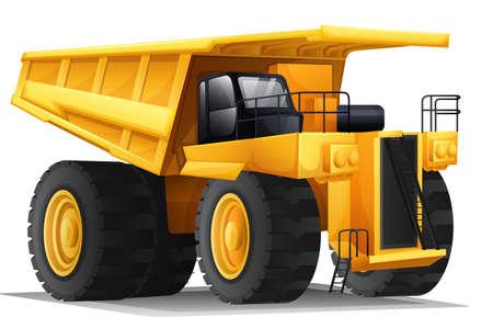 hauler: Illustration of a heavy hauler Illustration