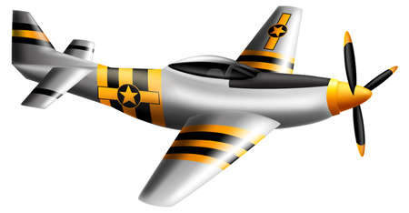 Illustration showing the fighter jet Stock Vector - 20679959