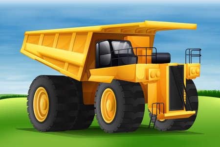 hauler: Illustration showing the hauler
