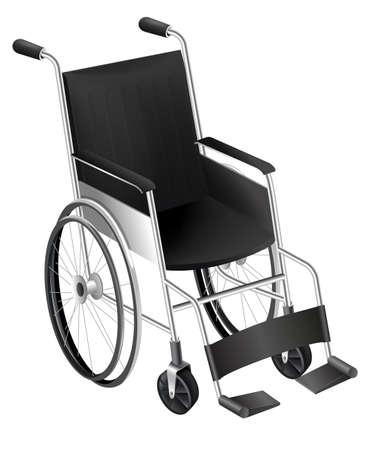 ulceras: Ilustraci�n que muestra la silla de ruedas