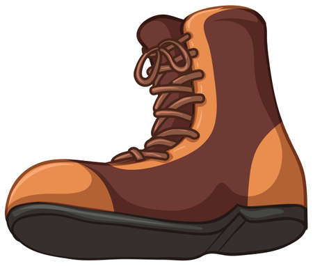 Illustration of a boots on a white background Stock Vector - 23261157
