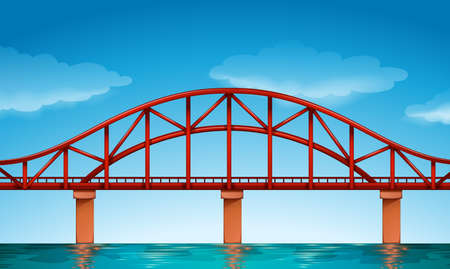 movable: Illustration of a beautiful bridge