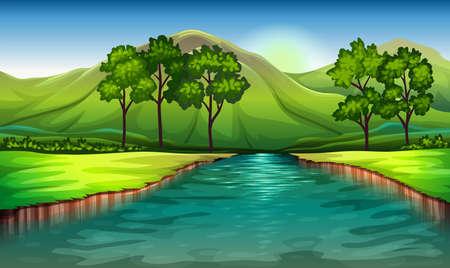 Ilustración de los recursos naturales