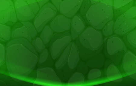 texturized: Illustration of a green stonewall background