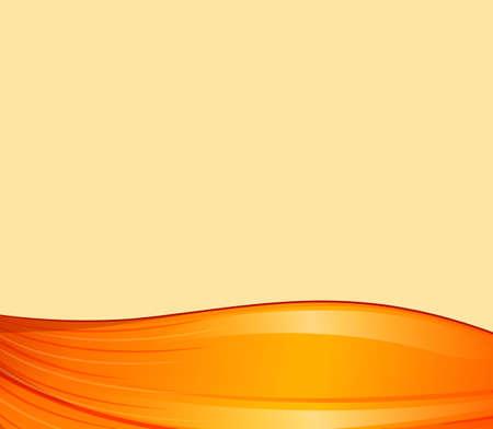beautification: Illustration of an orange border design