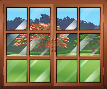 closed window clipart. illustration of a closed window clipart