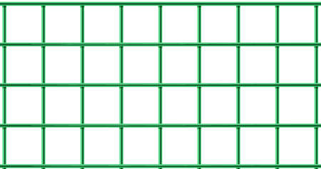 Illustration of a green cage on a white background