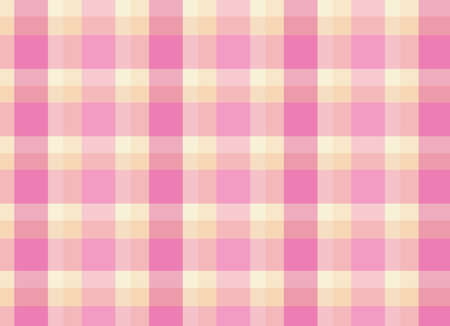 floor mat: Illustration of a topview of a pink checkered floormat Illustration