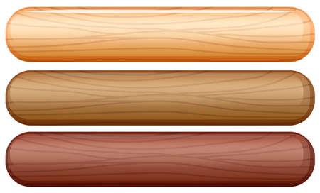 lllustration: lllustration of the stick icons on a white background Illustration