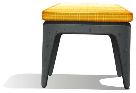 occupant: Illustration of a furniture on a white background
