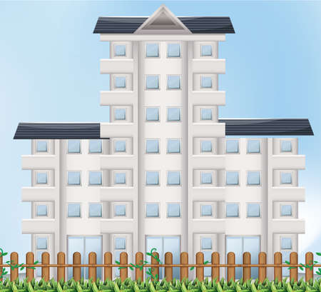 occupancy: Illustration of a tall building Illustration
