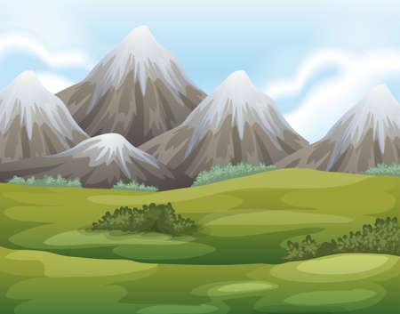 illustration: Illustration of the different landforms Illustration