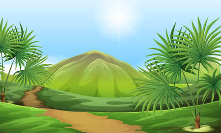 interactions: Illustration of the land resources Illustration