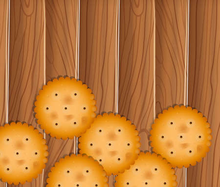 delectable: Illustration of the delectable biscuits