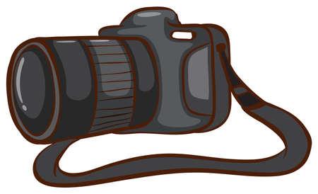 photgraphy: Illustration of a close up digital camera