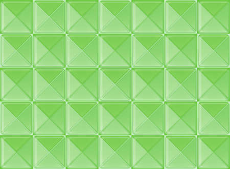 meanders: A topview of a green pattern Illustration