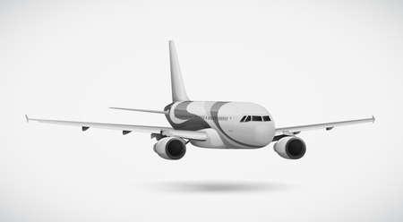 first plane: An international plane
