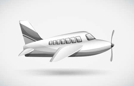 jets: A passenger plane Illustration