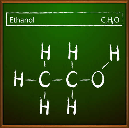 lewis: An image showing the ethanol molecular formula