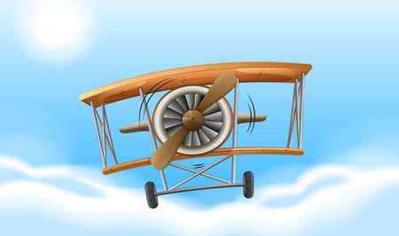 jetplane: A vintage propeller