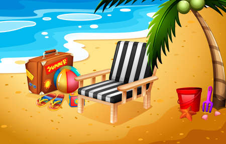 legged: A summer adventure at the beach