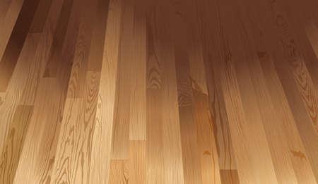 Un pavimento struttura in legno
