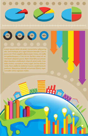 A colourful infochart of the environment