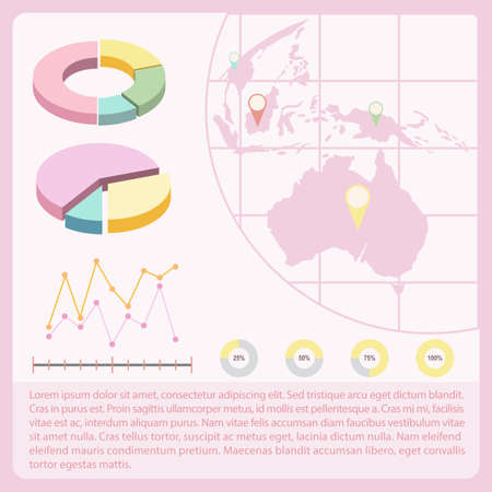 circumference: An infochart with a map and graphs