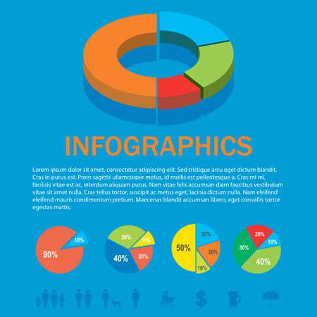 infochart: An infochart on a blue background
