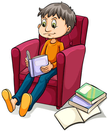 idiom: An image showing an armchair expert idiom