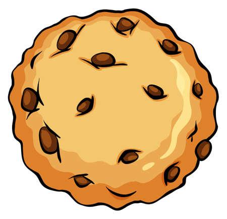 Event qui vous suis en esquivant les obstacles 37001100-biscuits-brun-croquant-sur-un-fond-blanc