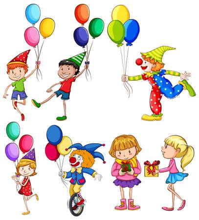 46 365 kids birthday party cliparts stock vector and royalty free rh 123rf com April Birthday Clip Art Free Happy New Year Clip Art Free