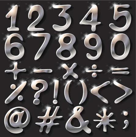 operations: Chiffres num�riques mousseux et des op�rations math�matiques