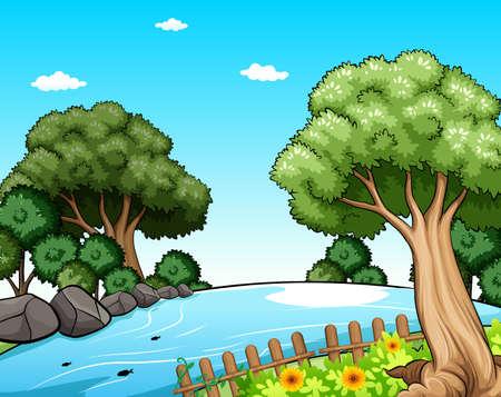 beaux paysages: Beau paysage de la m�re nature