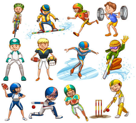 surf team: Sport set played by male