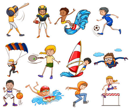 played: Set of sports played men and females