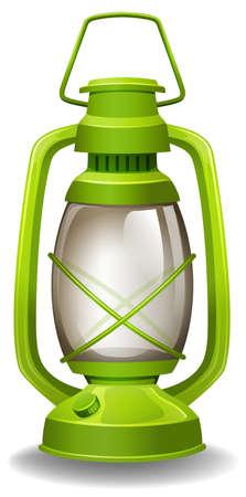oil lamp: Close up simple design of oil lamp